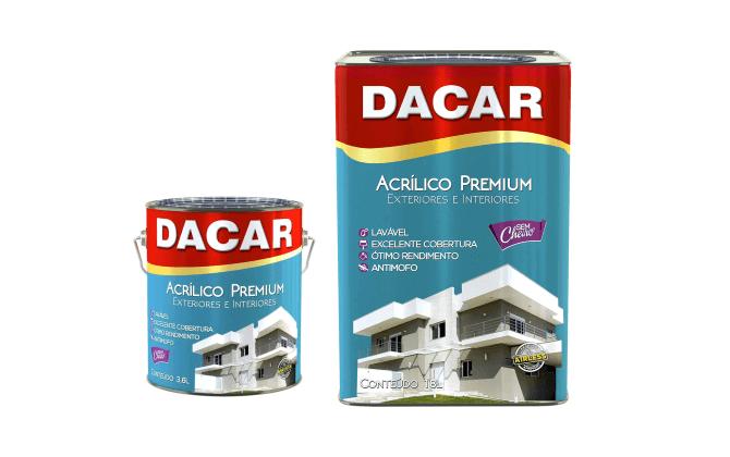 Acrílico Fosco Dacar Premium