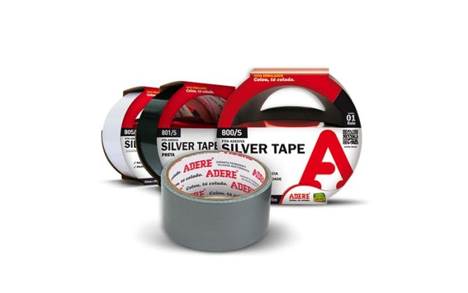 Silver tape