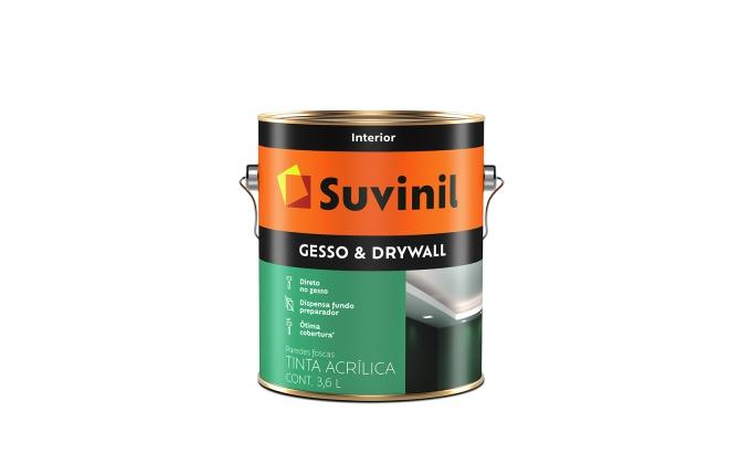 Tinta para Gesso e Dry Wall